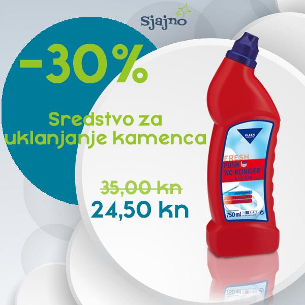 KLEEN PUSH WC CLEANER 750 ml
