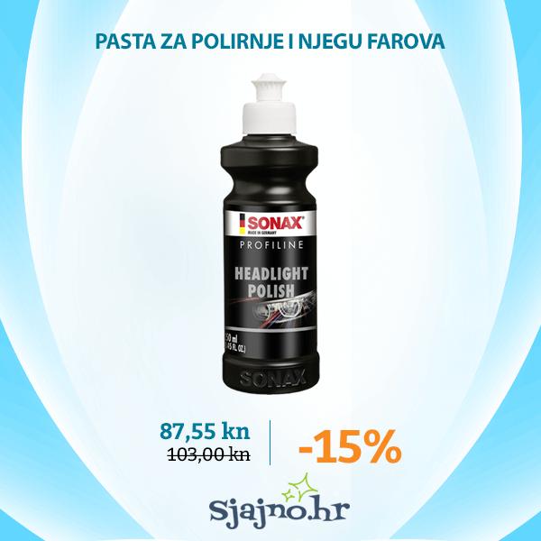 SONAX PROFILINE HEADLIGHT POLISH 250 ml